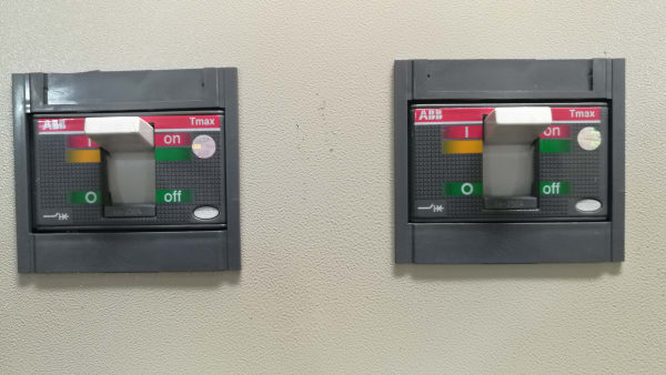 Fast Transition 400A ATS Panel for Mains, Gen1 and Gen2 with Dual 250A Outgoing Breakers