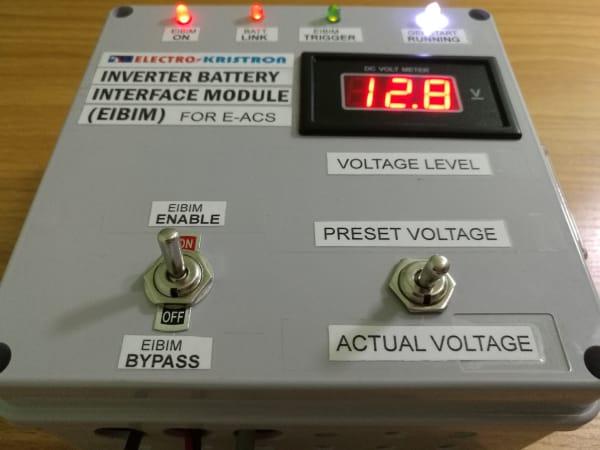 Inverter Battery Interface Module (EIBIM) - Helps Your ATS Monitor Inverter Battery Voltage Level For Gen AutoStart