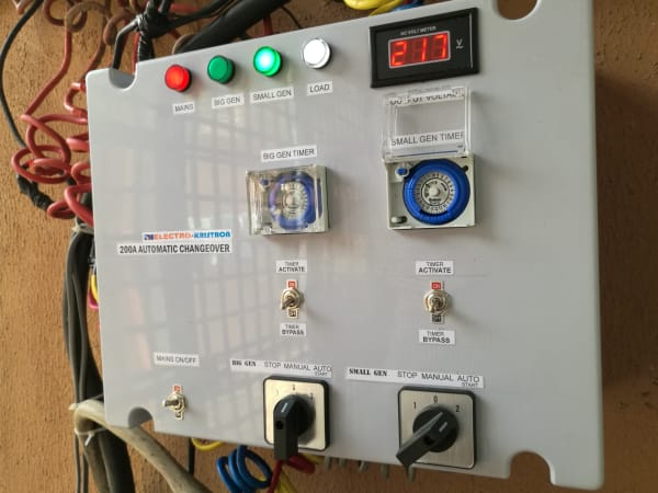 100Amps 3 Phase 3-in-1 Automatic Transfer Switch (ATS)