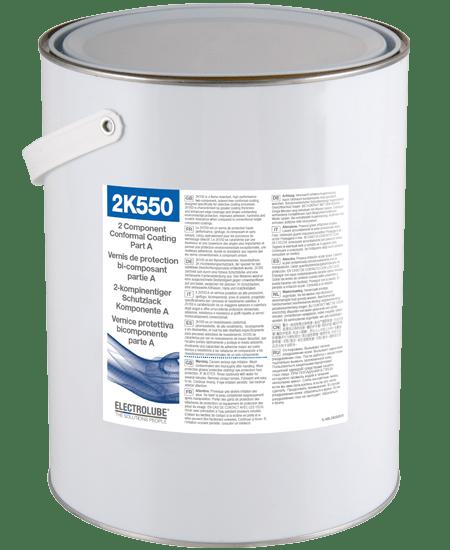 2K550 Two Part Abrasion Resistant Flame Retardant Conformal Coating Thumbnail