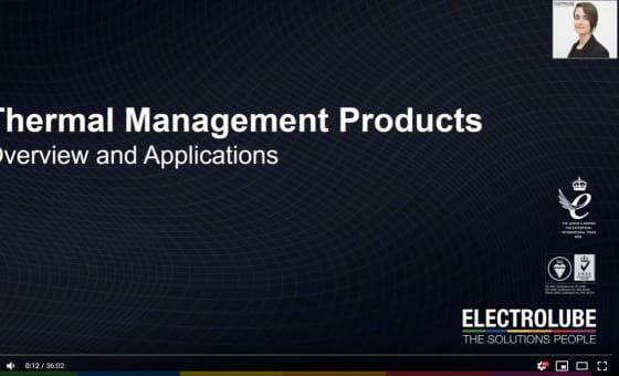 热管理的电子设备 - 网络研讨会特色图片