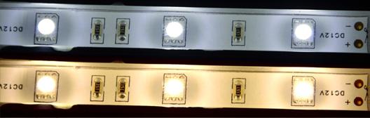 LEDs potted with UR5634 Optically Clear Polyurethane LED Potting Compound