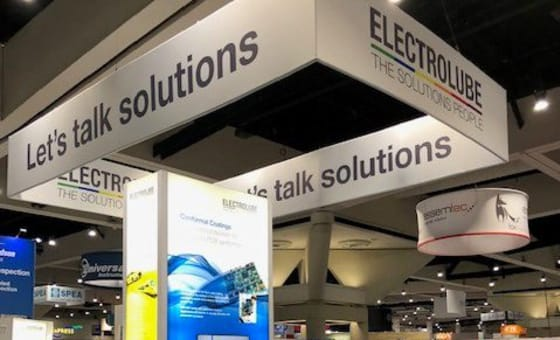 Electrolube Launch New UV Coatings, Resins and Gap Fillers for the USA At IPC APEX EXPO featured image