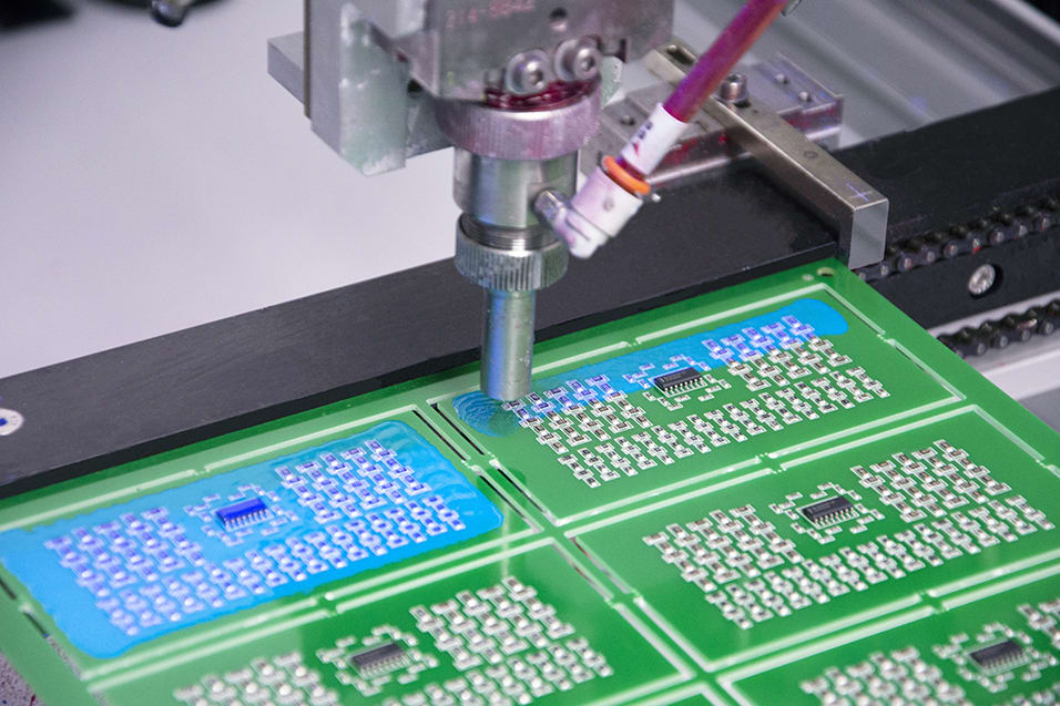 Electrolube Demonstrate Rapid UV Cure Conformal Coatings Live At Productronica featured image