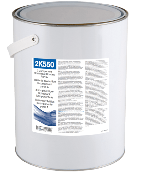 2K550 Two part abrasion,chemical resistant & flame retardant coating Thumbnail