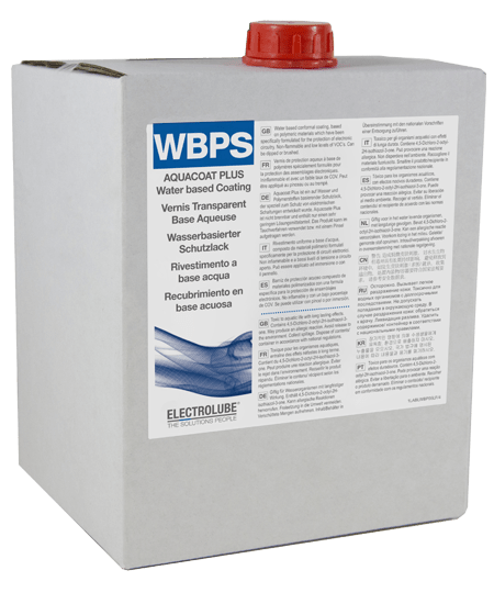 WBPS Aquacoat Plus Schutzlack (Sprühversion) Thumbnail