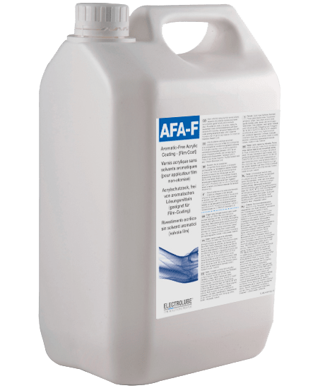 AFA-F Acrylat-basierter Schutzlack ohne aromatische Lösemittel (Version für Film-Coater) Thumbnail