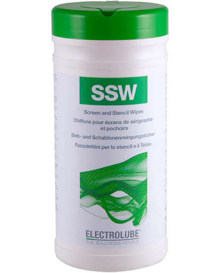SSW SSW Screen & Stencil Cleaning Wipes Thumbnail