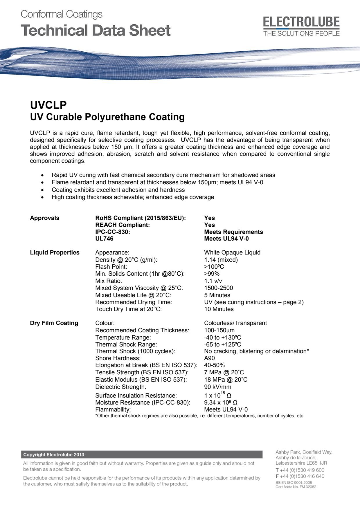 Next Generation UV Cure Conformal Coatings Increase Performance and Speed-up Production featured image