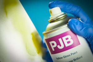 PJB Yellow Gloss Paint