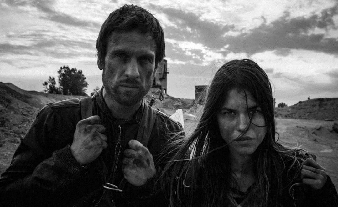 Ana Ularu și Simon Merrells în Index Zero, 2014