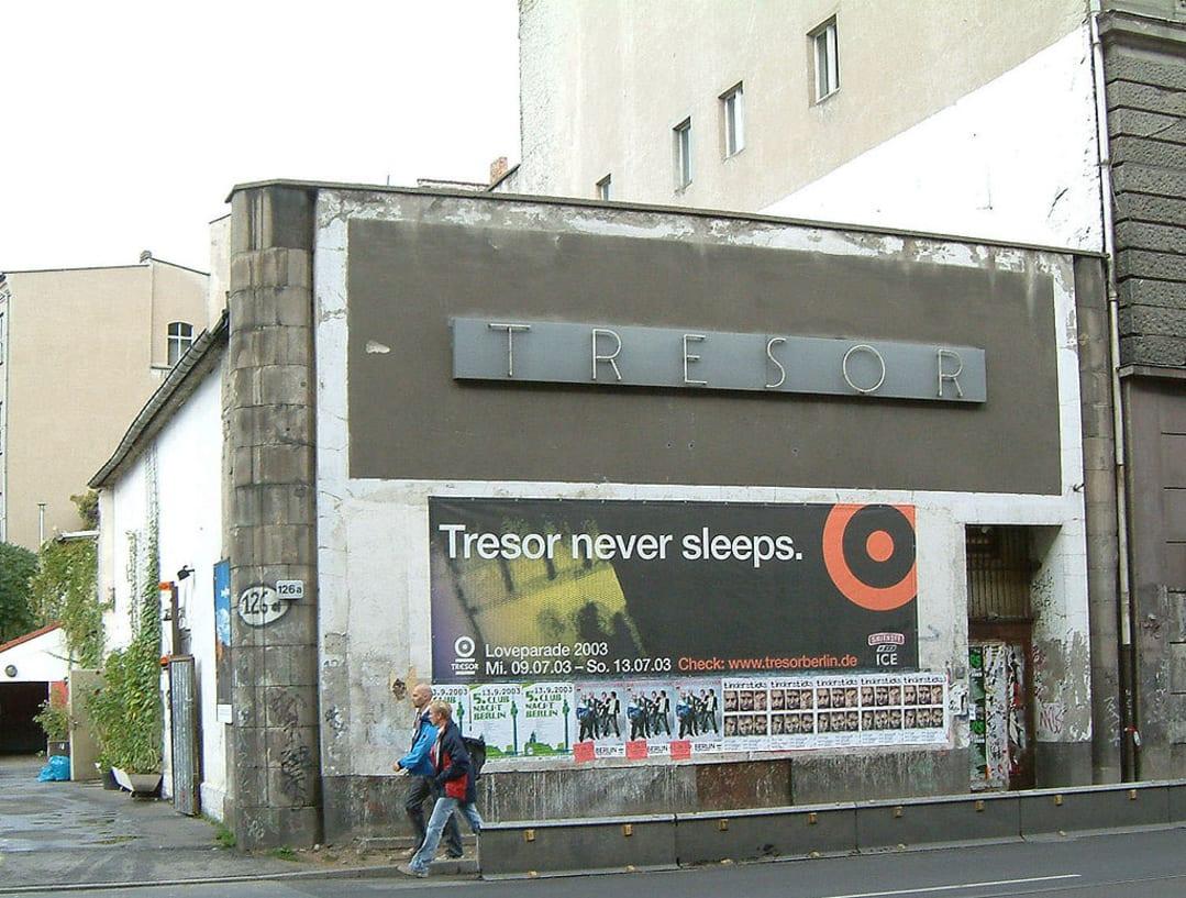 Locația originală Tresor, din Leipziger Straße (2003)