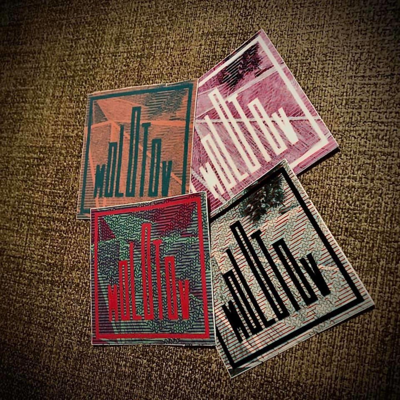 Stickere Molotov