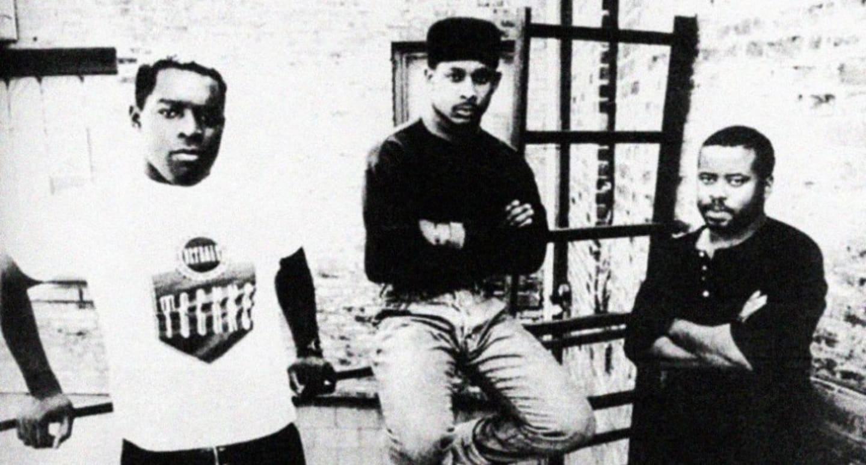 Belleville Three - de la stânga la dreapta - Kevin Saunderson, Derrick May și Juan Atkins
