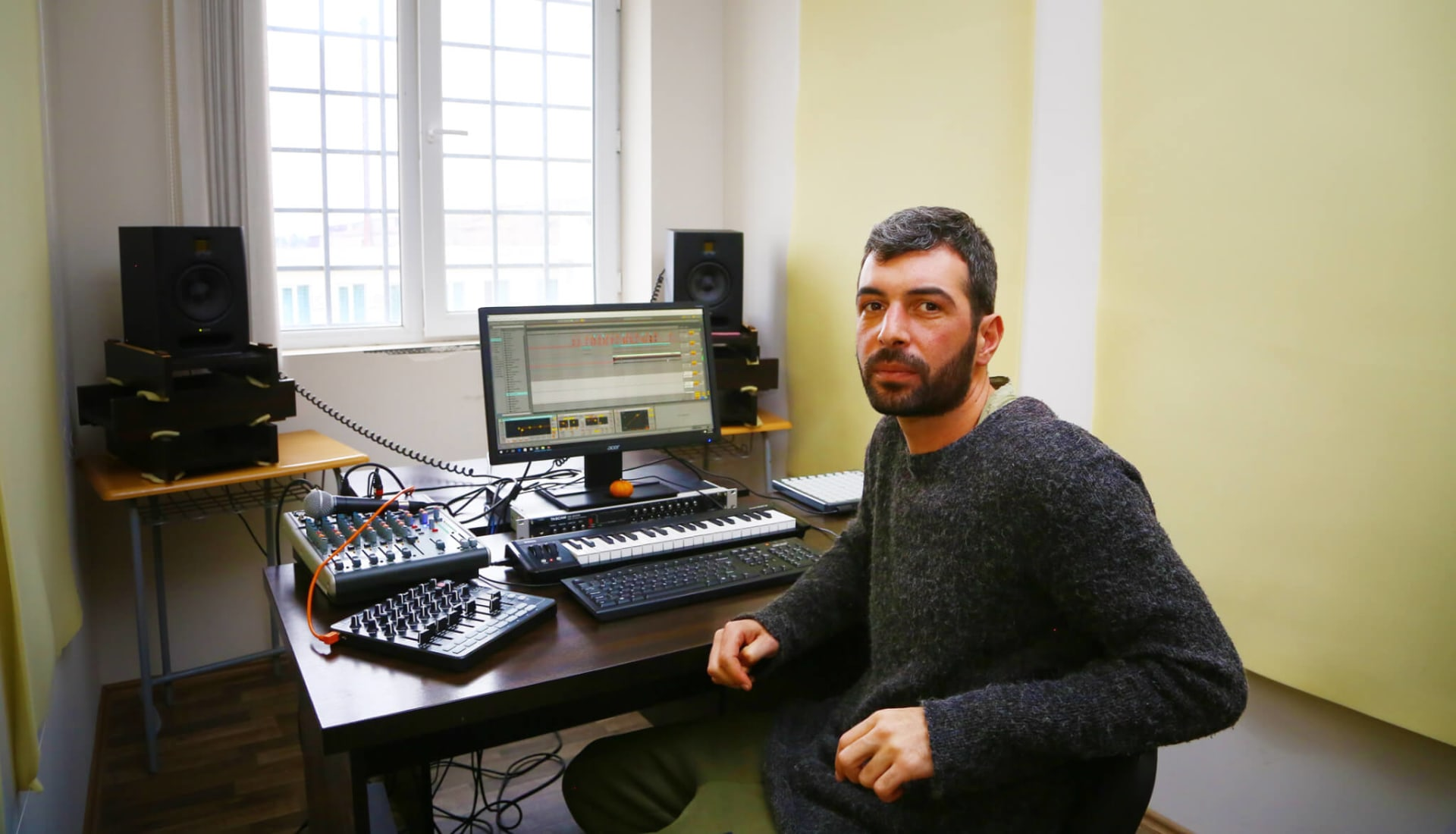 Georgian Techno Producer Making Music From Prison