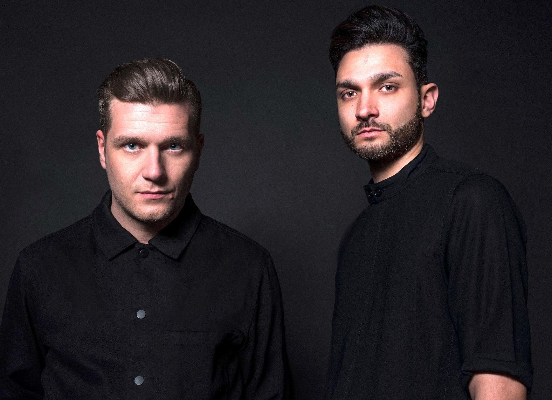 Swiss techno duo Adriatique. Photo by Raphael Rapior