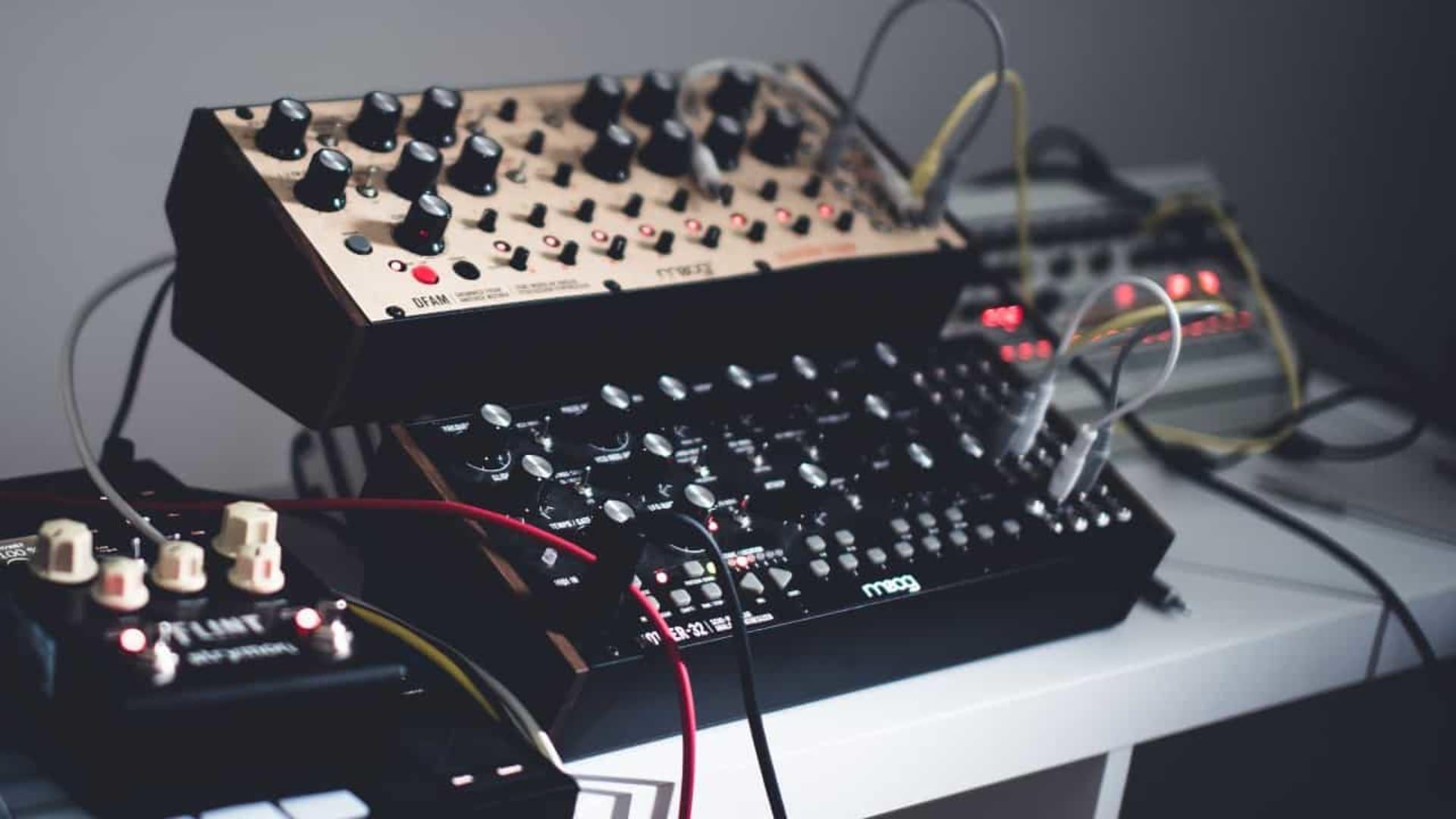 Moog synthesizer. Anton Shuvalov