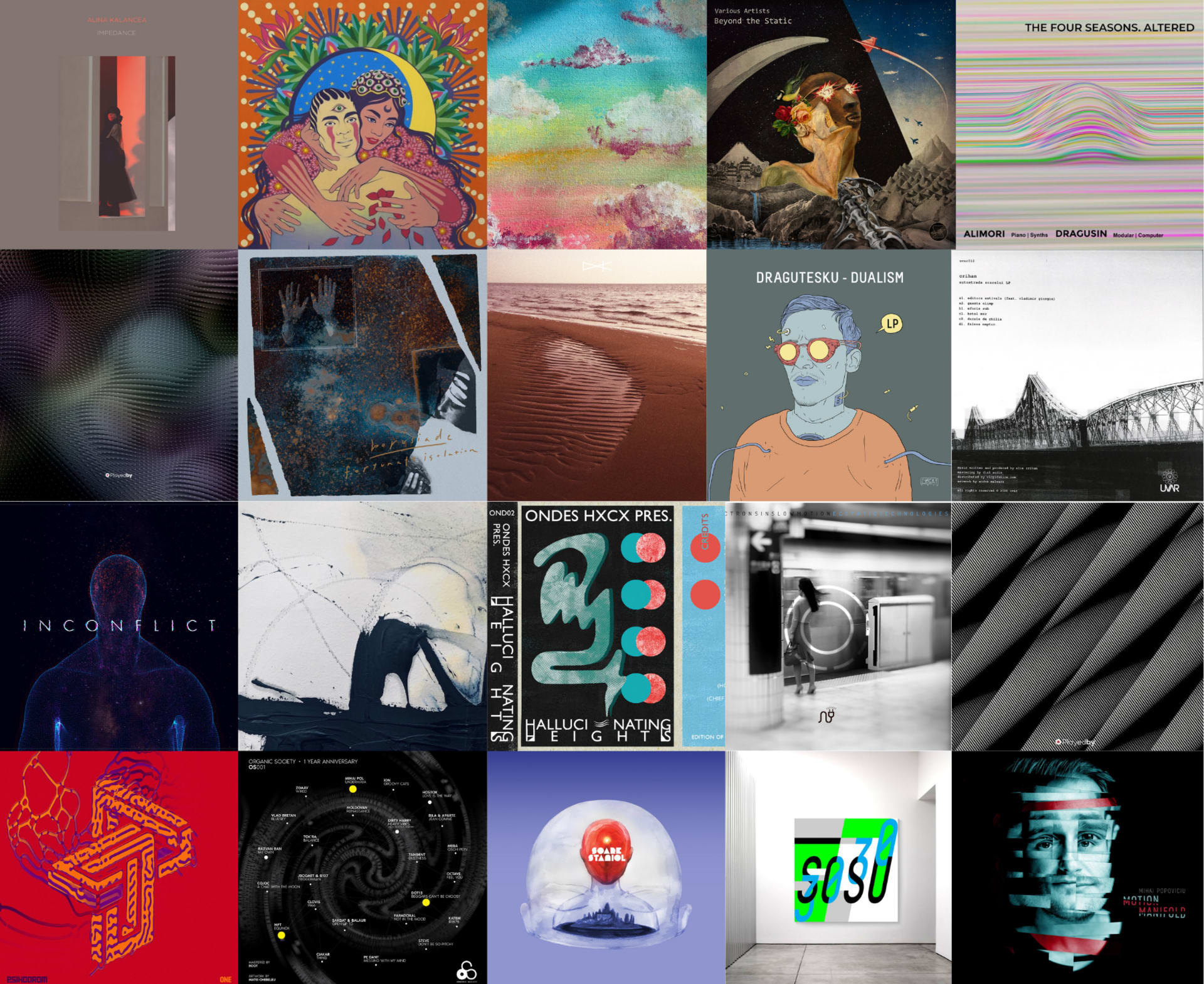 Albume și compilații din 2020