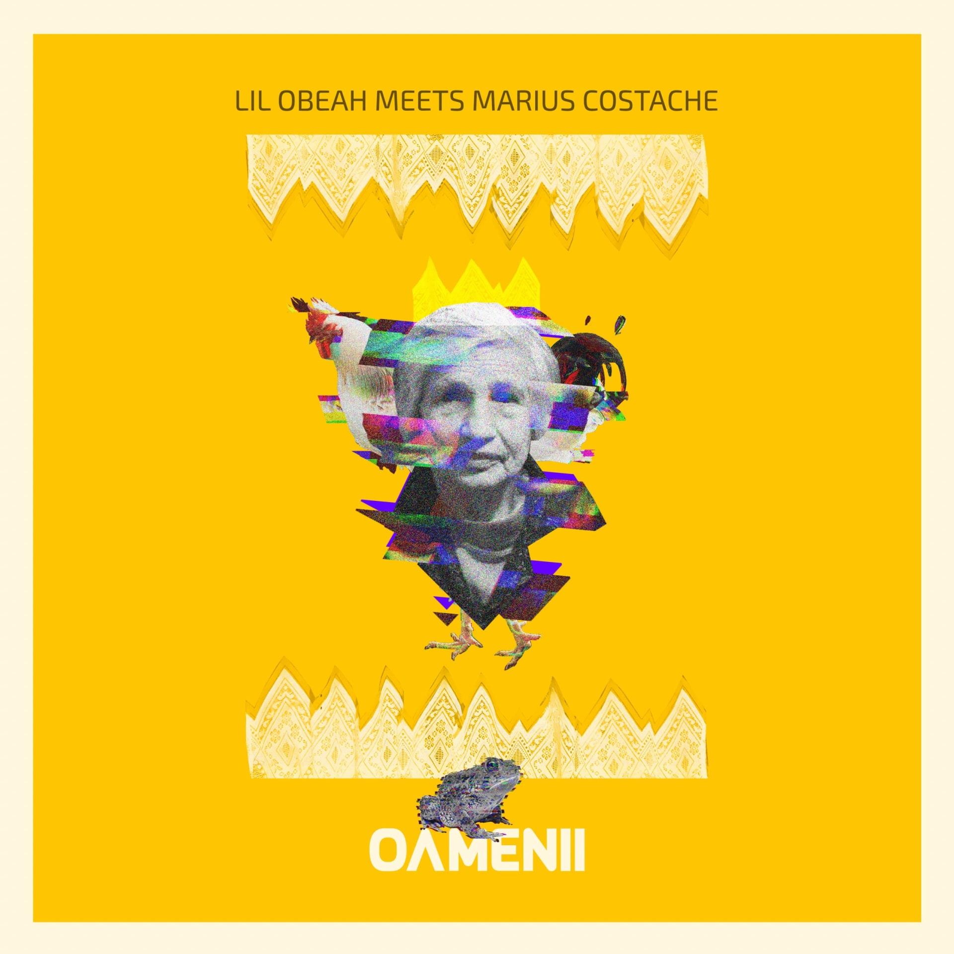 Lil Obeah Meets Marius Costache - Oamenii Cristiana Bucureci collage
