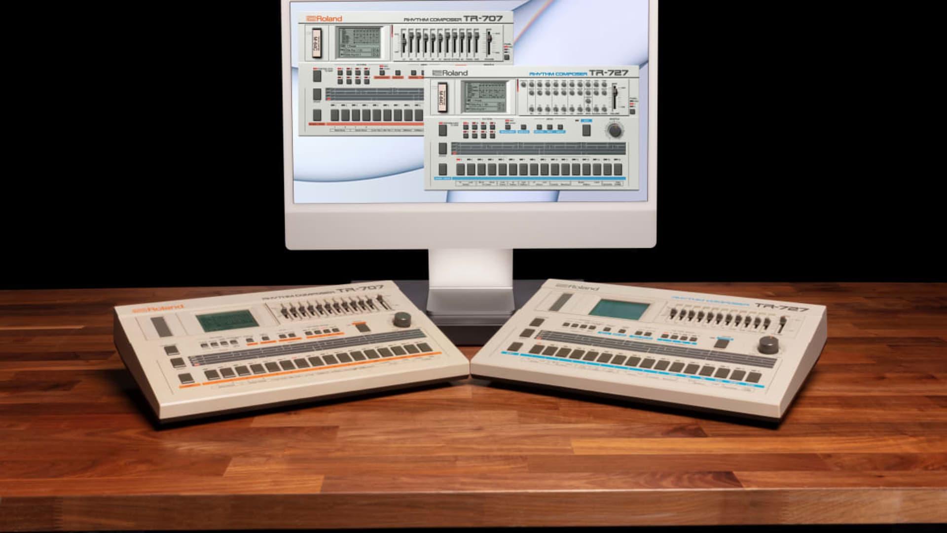 Roland TR-707 și TR-727