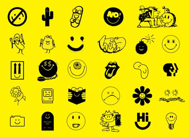 Smiley-felhasználások