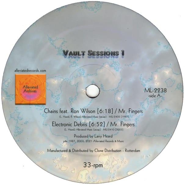 Larry Heard - Vault Sessions 1