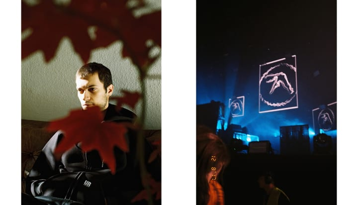 Photographer George Nebieridze Berlin Techno Underground AFX Aphex Twin Cem