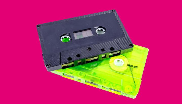 Pirate Radio Mixes Rave Mixtapes Techno Music Tape Cassette