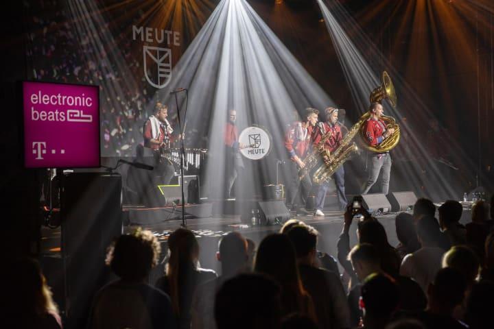 Meute by Michał Murawski Electronic Beats Fest Warsaw DJ Tennis Perel Justice Meute Marching Band Techno Party