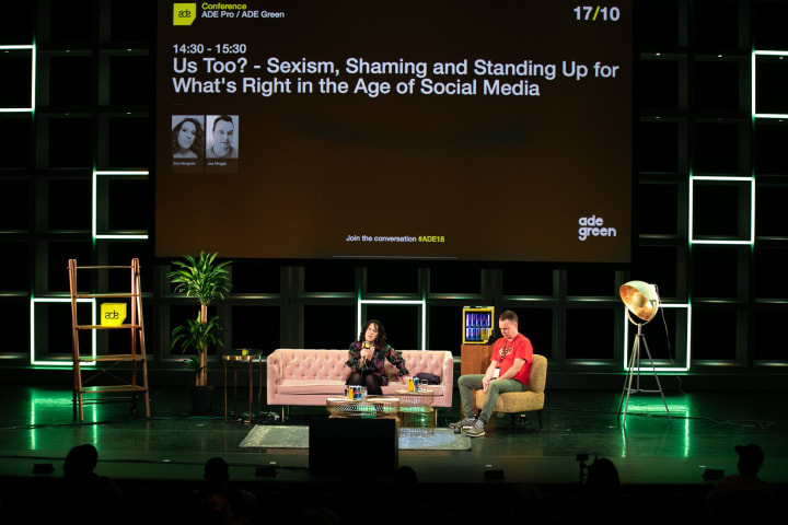 Controversial DJ Konstantin was a no show on this panel about sexism at Amsterdam Dance Event.