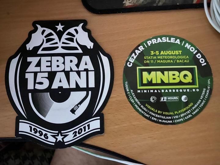 Sticker Zebra. Foto: Club Zebra