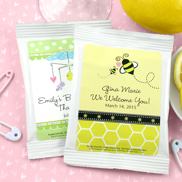 2043100--Baby Lemon Drop Martini Favors