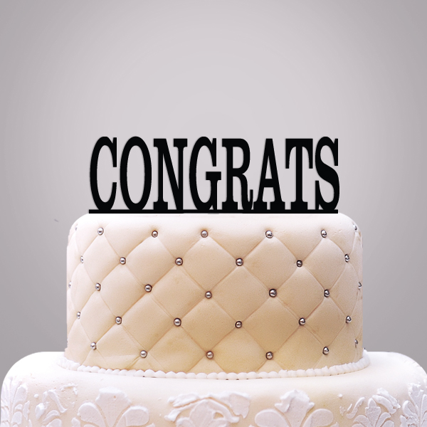 2519017--Personalized Classic Text Cake Topper