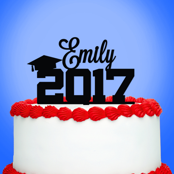 2519028--Personalized Graduate With Year Cake Topper