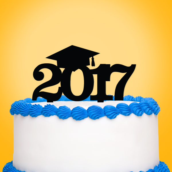 2519030--Graduation Year Cake Topper