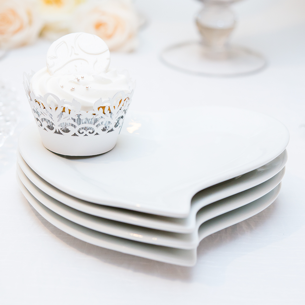 Heart Shaped Plates – Elegant Weddings +