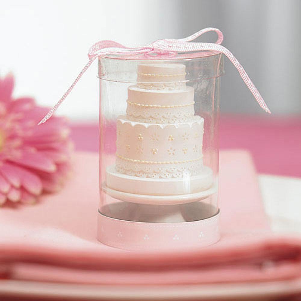 Elegant Lace Wedding Cake Candle – Elegant Weddings +