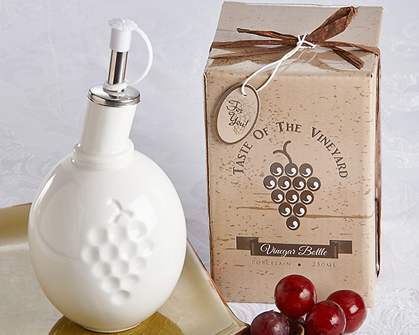 Taste Of The Vineyard Vinegar Bottle In Gift Box