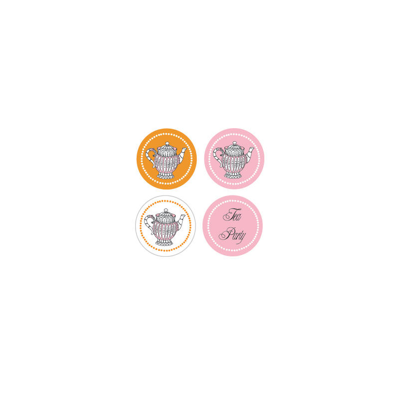 EB3004TP-Decorative Mini Stickers Set Of 32