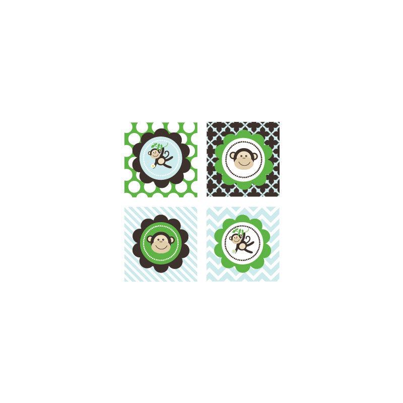 EB3005BM-Party Decorative Favor Tags Set Of 20