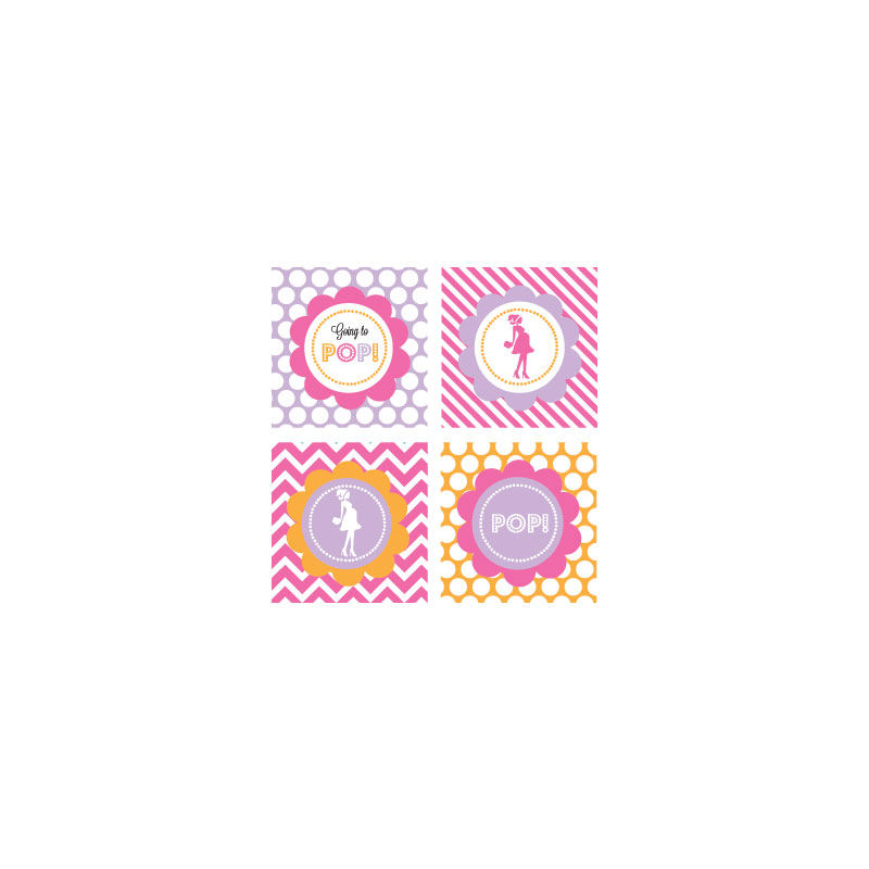 EB3005GPP-Decorative Favor Tags Set Of 20