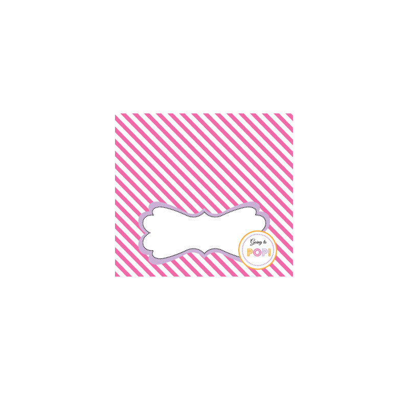 EB3006GPP-Going To Pop Pink Menu Cards Place Cards Set Of 6