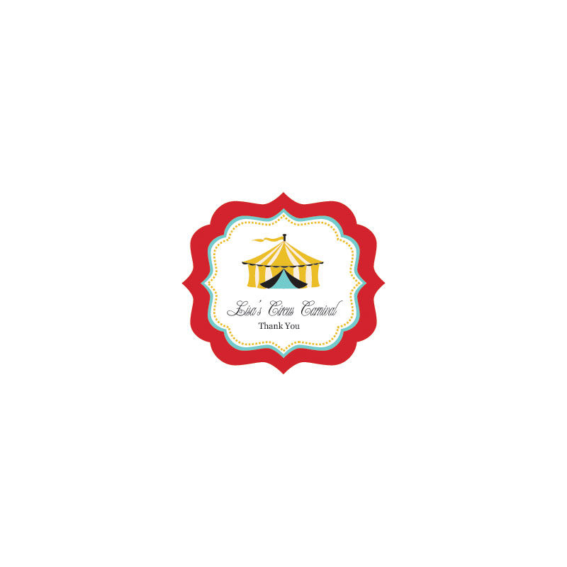 EB3020CC-Party Frame Personalized Labels