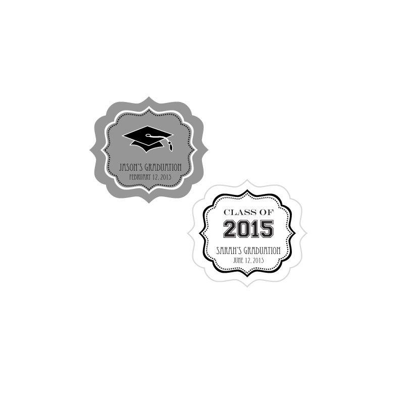 EB3020GZ-Personalized Graduation Frame Labels