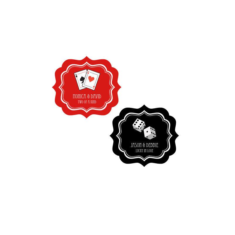EB3020VZ-Personalized Vegas Frame Labels