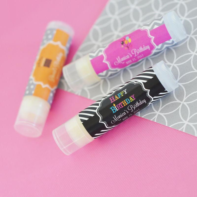 EB3031Y-Personalized Birthday Lip Balm Tubes