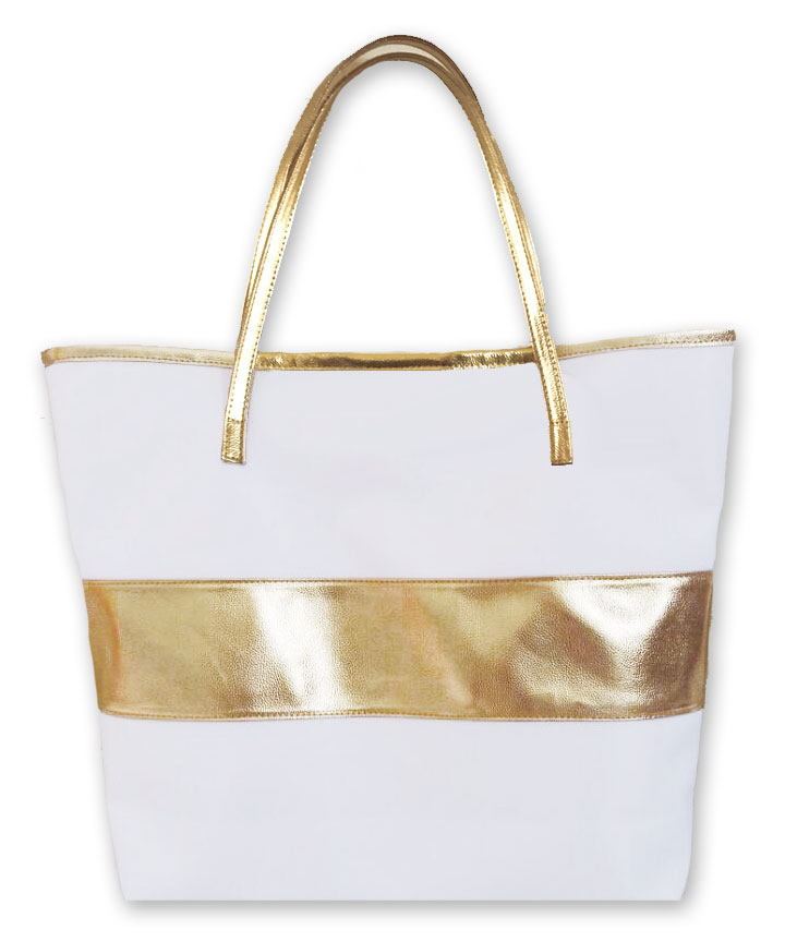 EB3175NP-Gold Stripe Bag