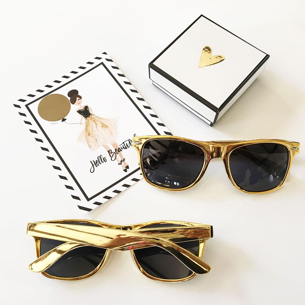 EB3181NP-Metallic Gold Sunglasses