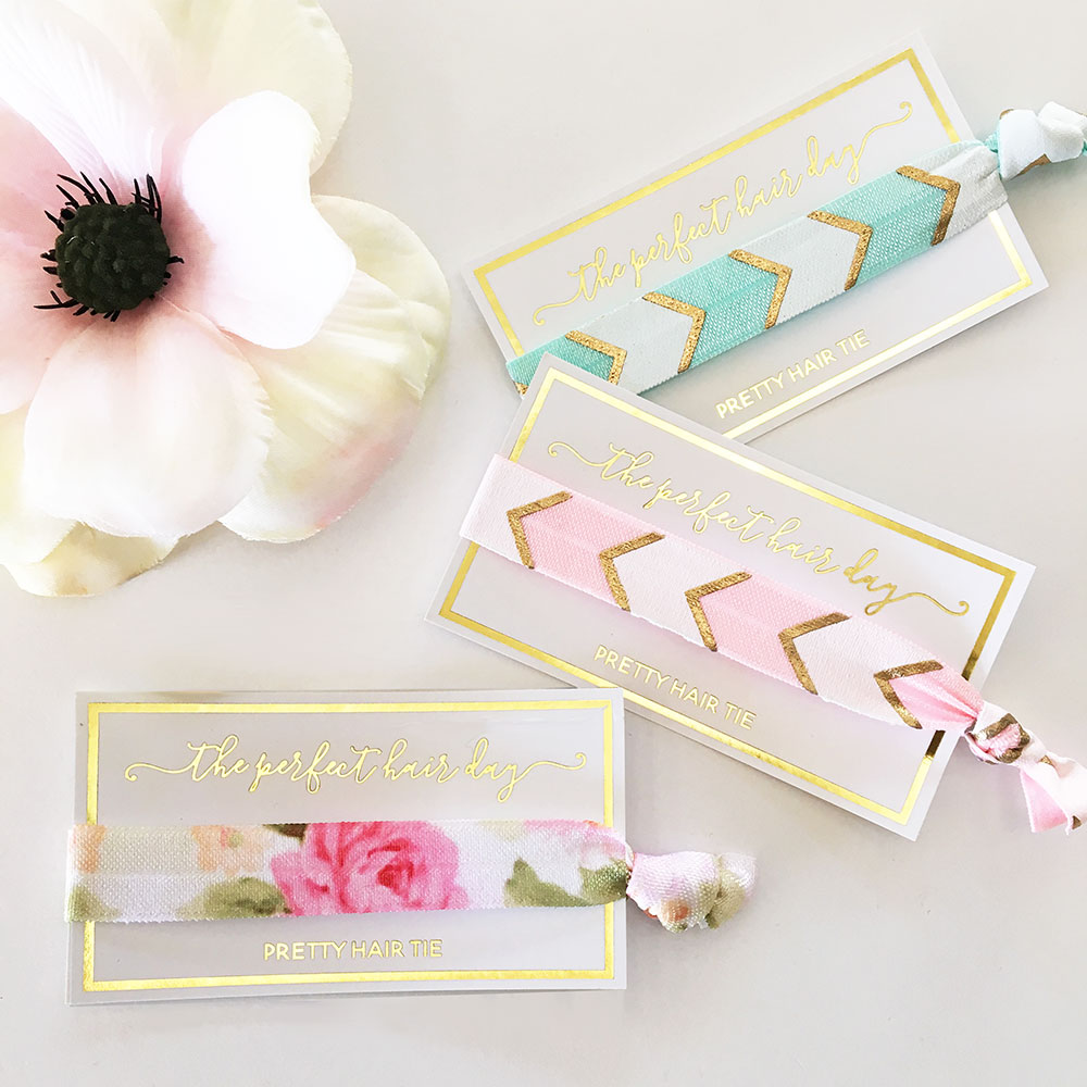 EB3182PER-Perfect Hair Day Hair Tie Set Of 6