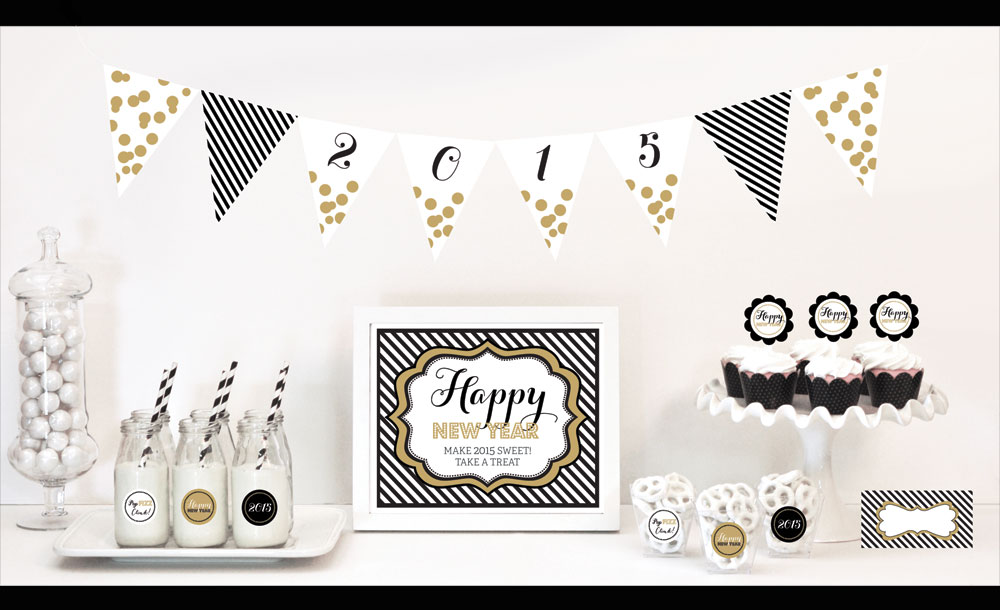 EB4000NYE-New Years Eve Party Decorations Starter Kit